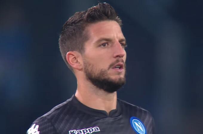 默滕斯:下半场踢得不好 遗憾没有追平马拉多纳进球纪录