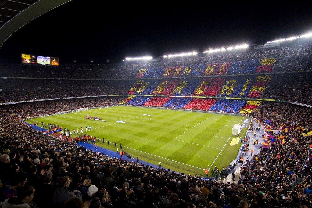 阿斯:巴萨将调整部分球迷观看欧冠比赛的座位