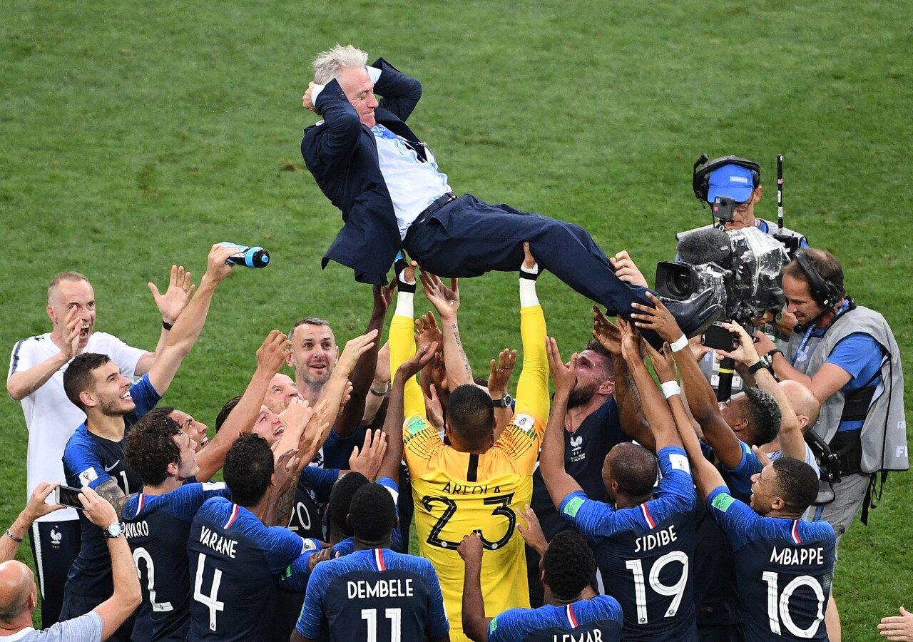 法足协主席:齐达内执教法国队?我希望德尚再干八年