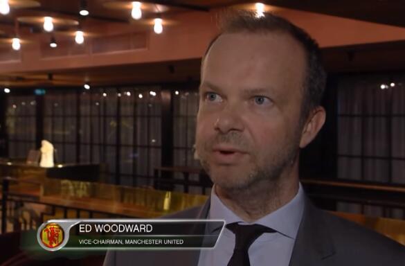 伍德沃德:为了俱乐部的重建工作,我们与索帅一起并肩而战