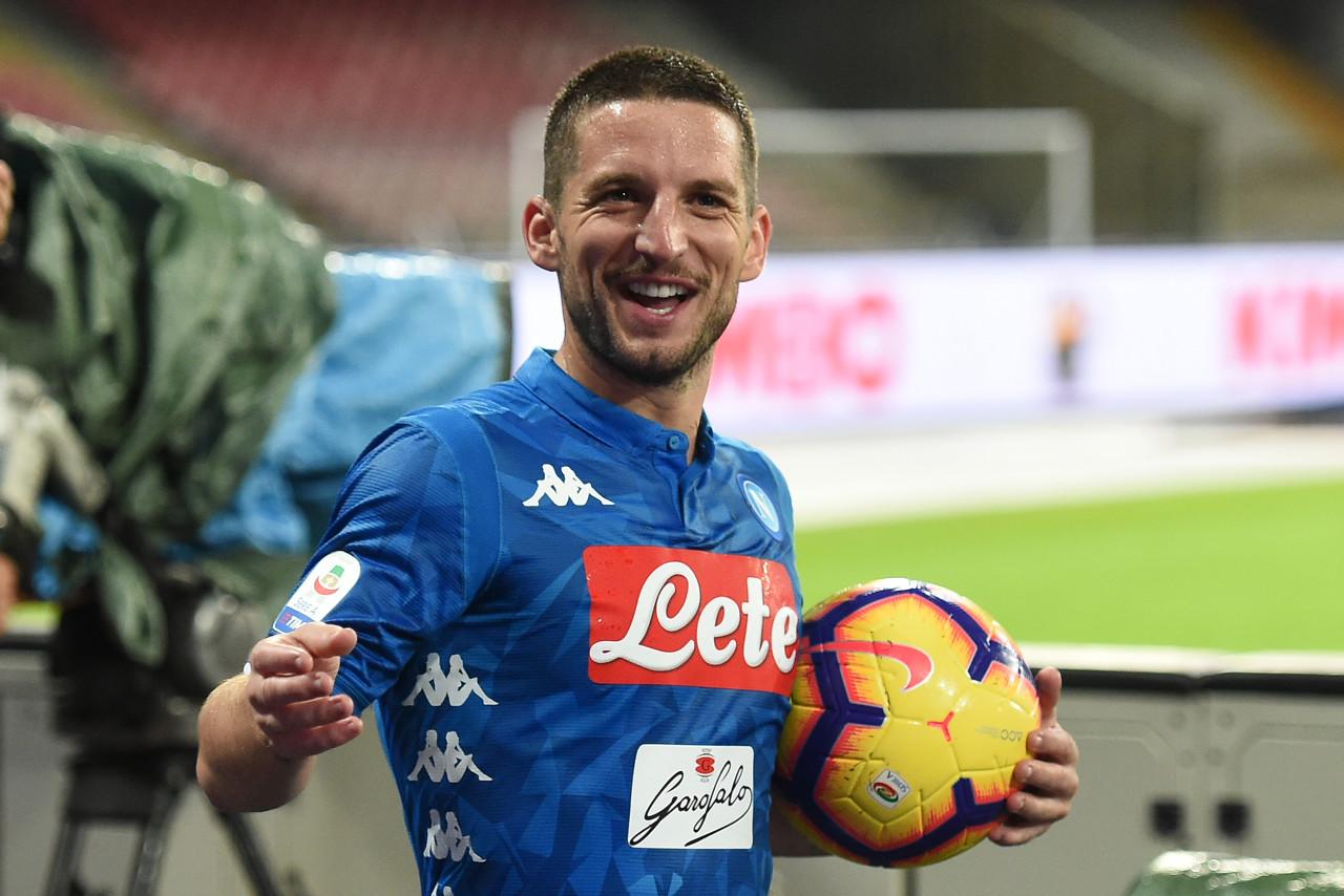 默滕斯:我想一直留在那不勒斯,未来不考虑前往中国踢球