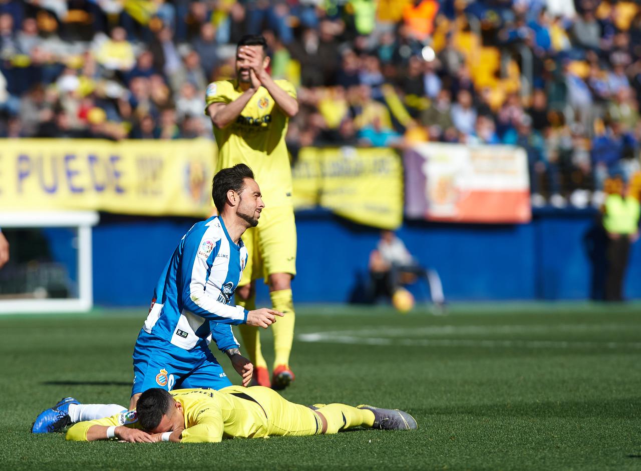 西班牙人前锋加西亚:在任意球丢球前我们做得都很好