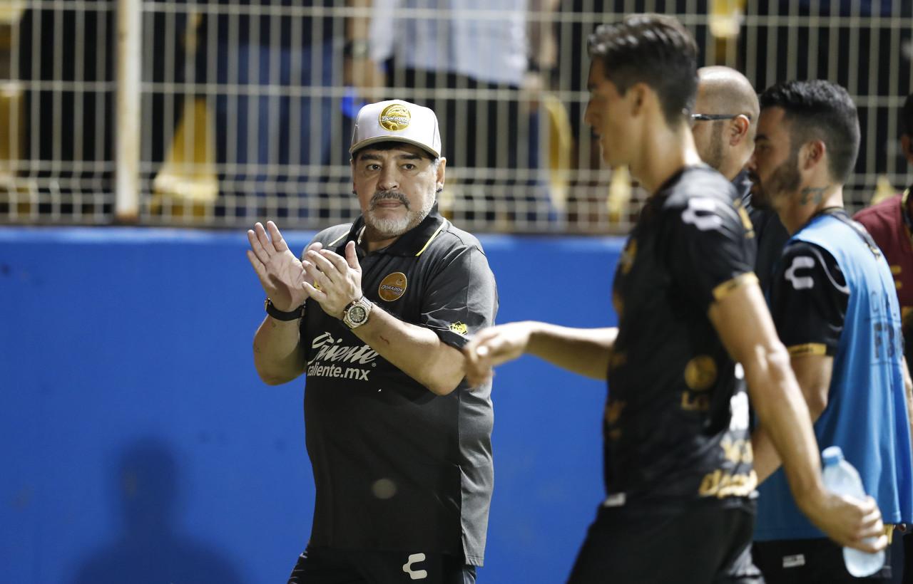队报:马拉多纳宣布赛季末离任墨西哥球队帅位