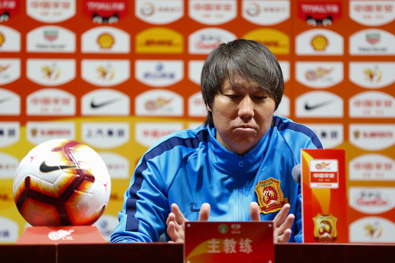 李铁:踢苏宁是学习机会,对手强大也将全力以赴