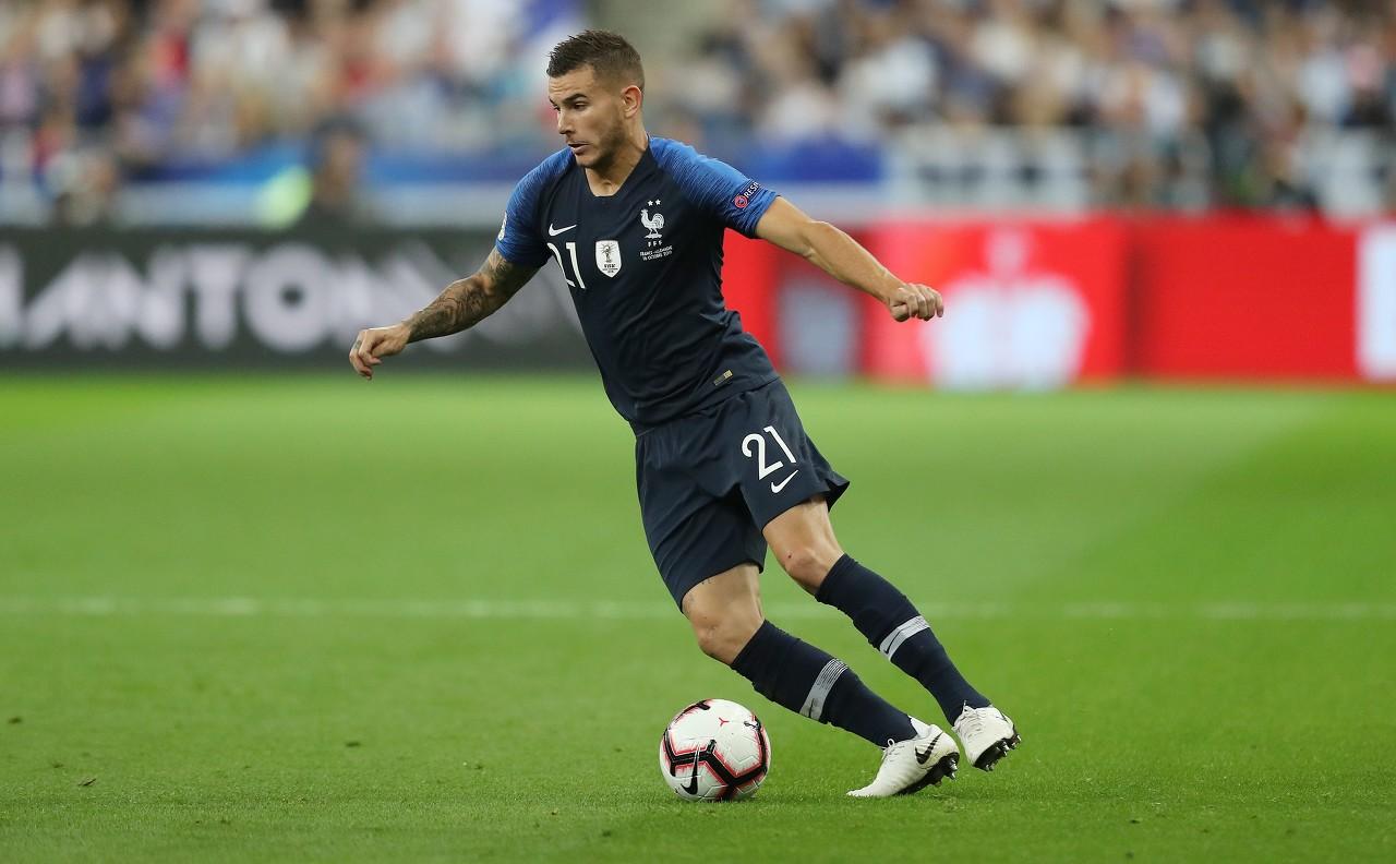 德天空:法足协认为卢卡斯恢复良好,他将留在法国队中