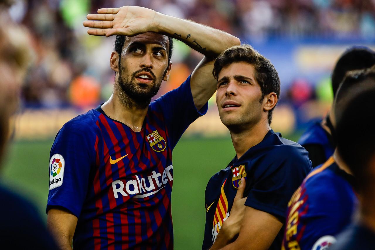 对曼联未染黄,布斯克茨和塞梅多将出战欧冠半决赛
