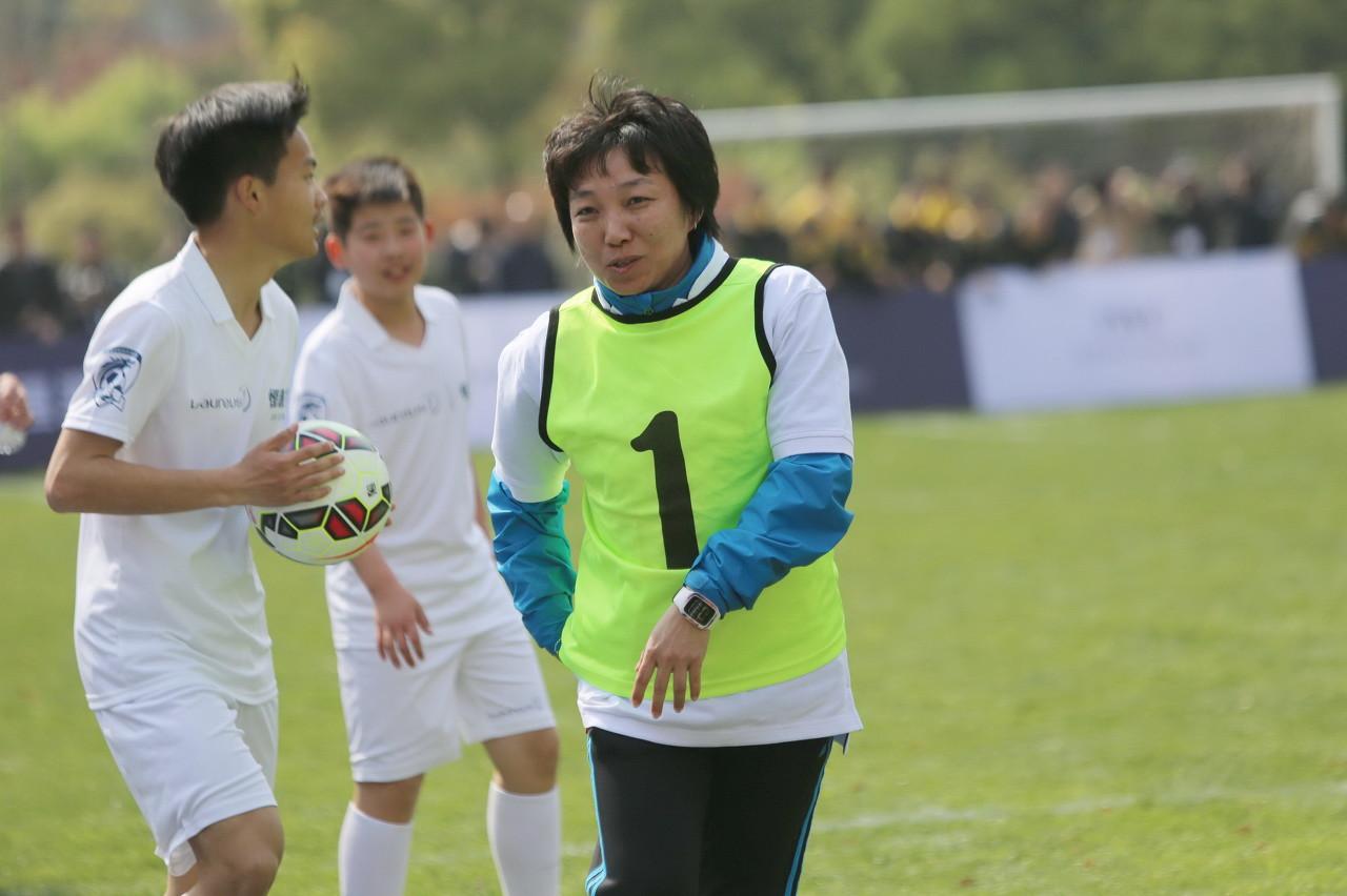 孙雯:中国女足出线前景明朗 想走更远需加强临门一脚