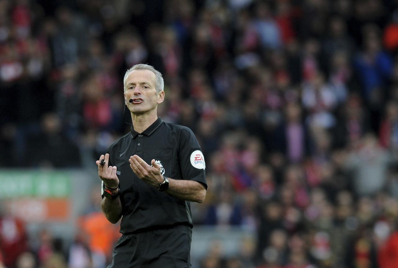 英超第22轮裁判安排:阿特金森将执法热刺大战利物浦