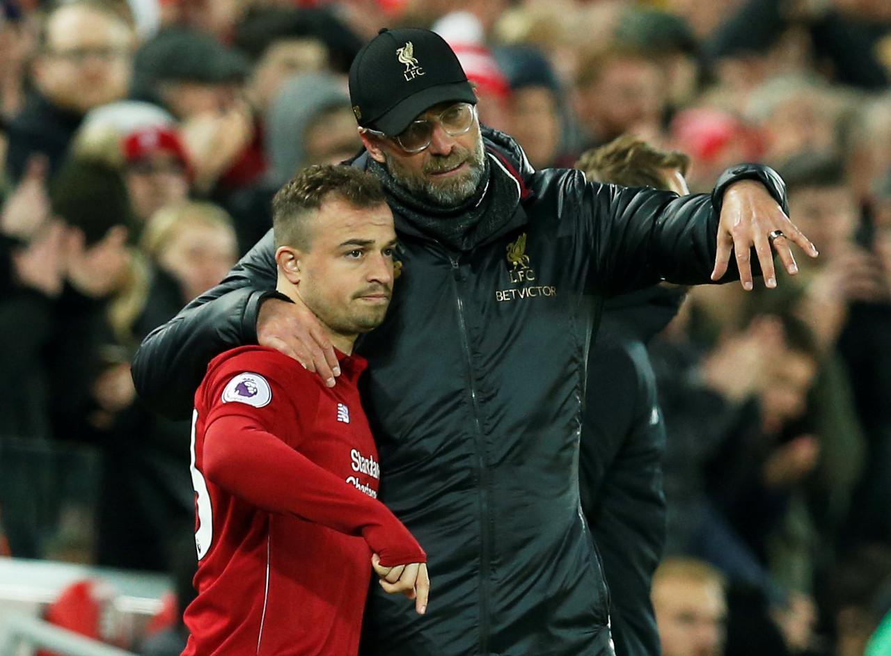 沙奇里:加盟利物浦前就知道竞争激烈,但仍愿意留在红军