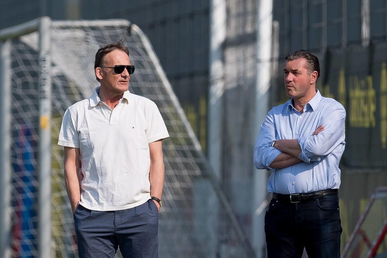 德媒:多特蒙德CEO瓦茨克、体育总监佐尔克可能都不续约