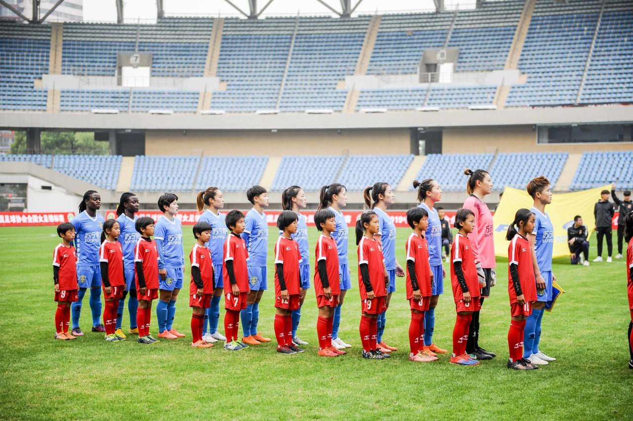 热身赛-塔比莎建功,苏宁女足1-0小胜缅甸