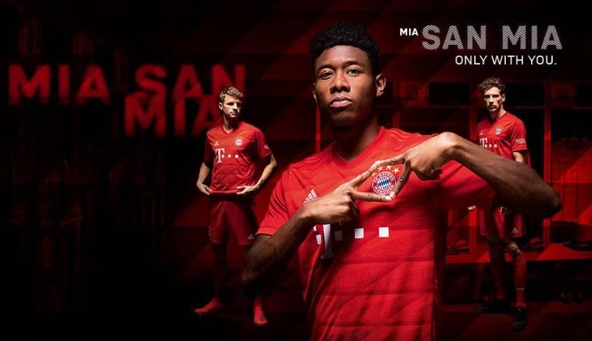 亚博:官方-19/20赛季拜仁新主场球衣发布 致敬安联球场
