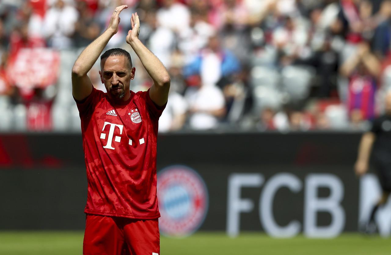 里贝里:未来不回法国踢球 会怀念在拜仁的时光