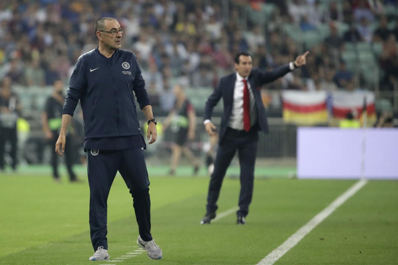 迪马:欧联决赛之后,尤文高层前往伦敦邀请萨里执教