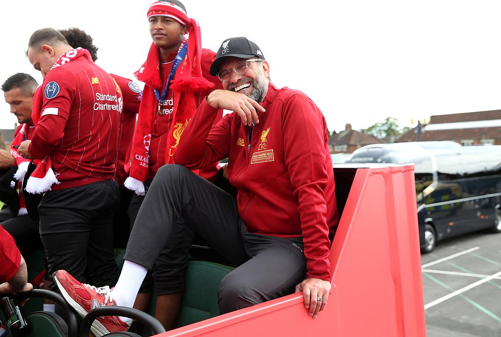红军CEO:克洛普是世界级教练 球队会赢得更多冠军