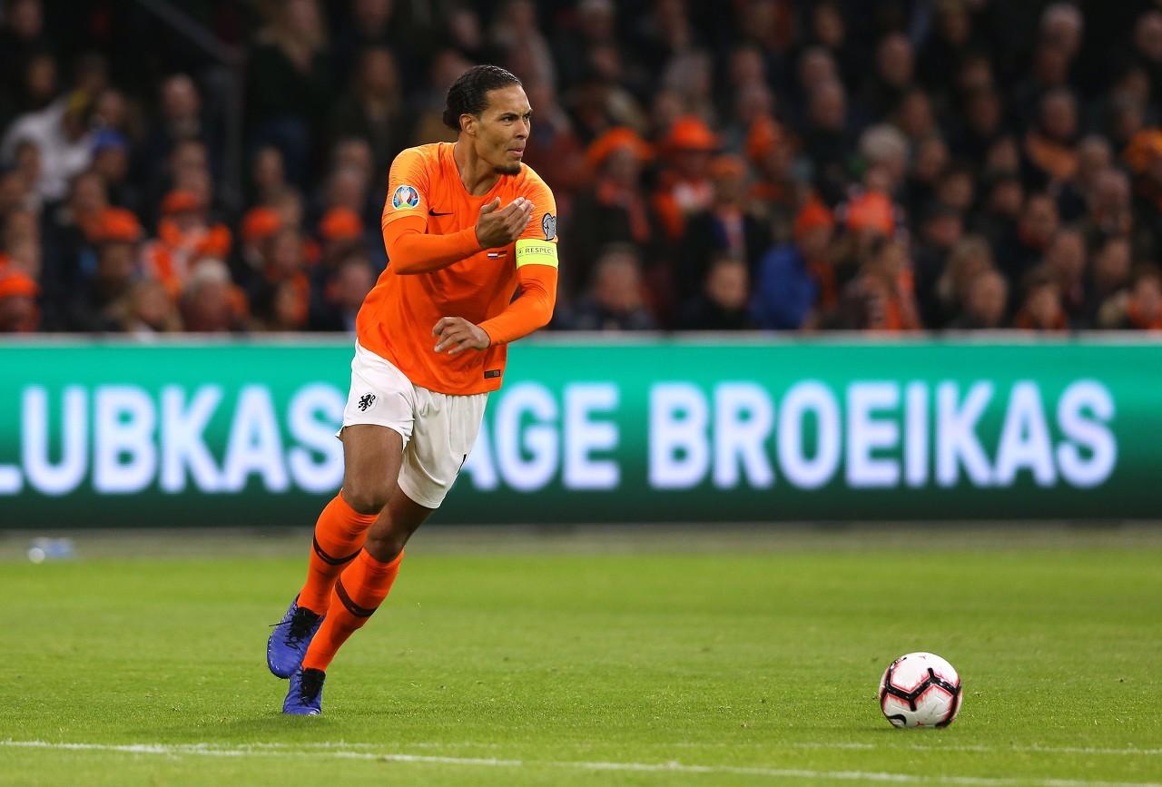 范迪克:我们下半场表现很不好 整个荷兰都渴望晋级欧洲杯