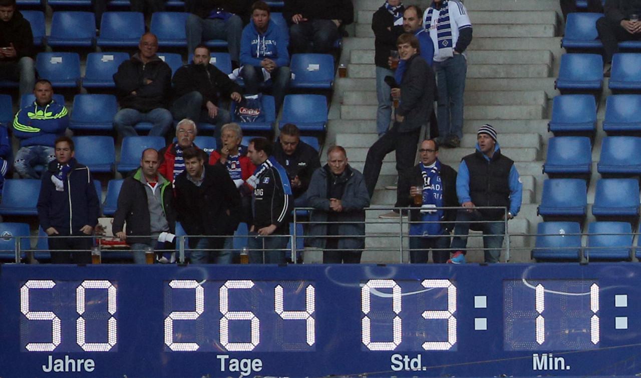 德媒:汉堡升级失败,今夏将拆除德甲停留时钟
