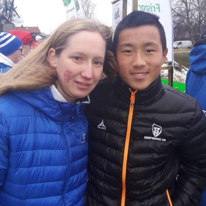专家:挪威华裔球员王定毅正在南方某中超队试训
