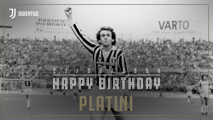 普拉蒂尼64岁生日,尤文官推送上生日祝福