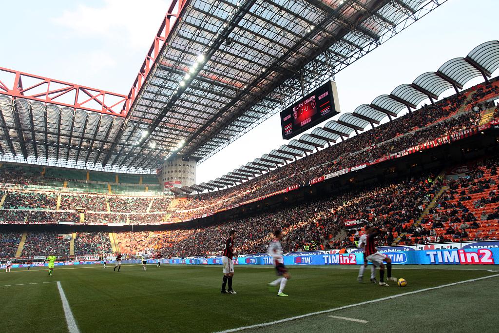 米体:国米主场战巴萨门票收入预计将创意大利足球纪录