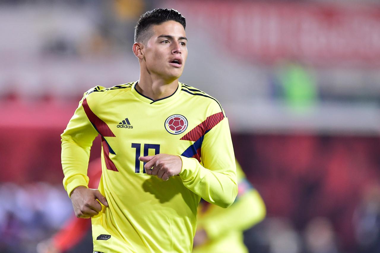 哥伦比亚国家队最新一期大名单:J罗领衔