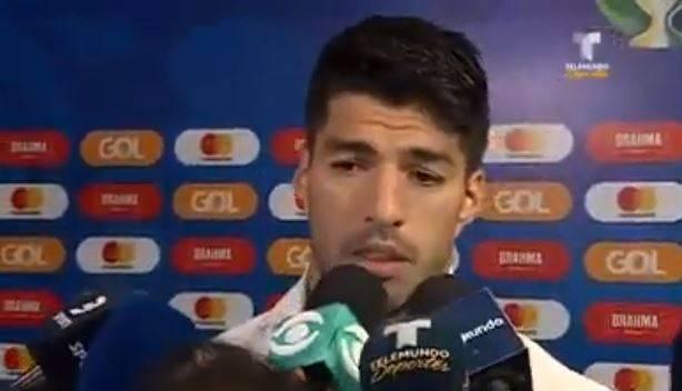 苏亚雷斯:机会均等的进球均判无效 队友鼓励让我抬起头