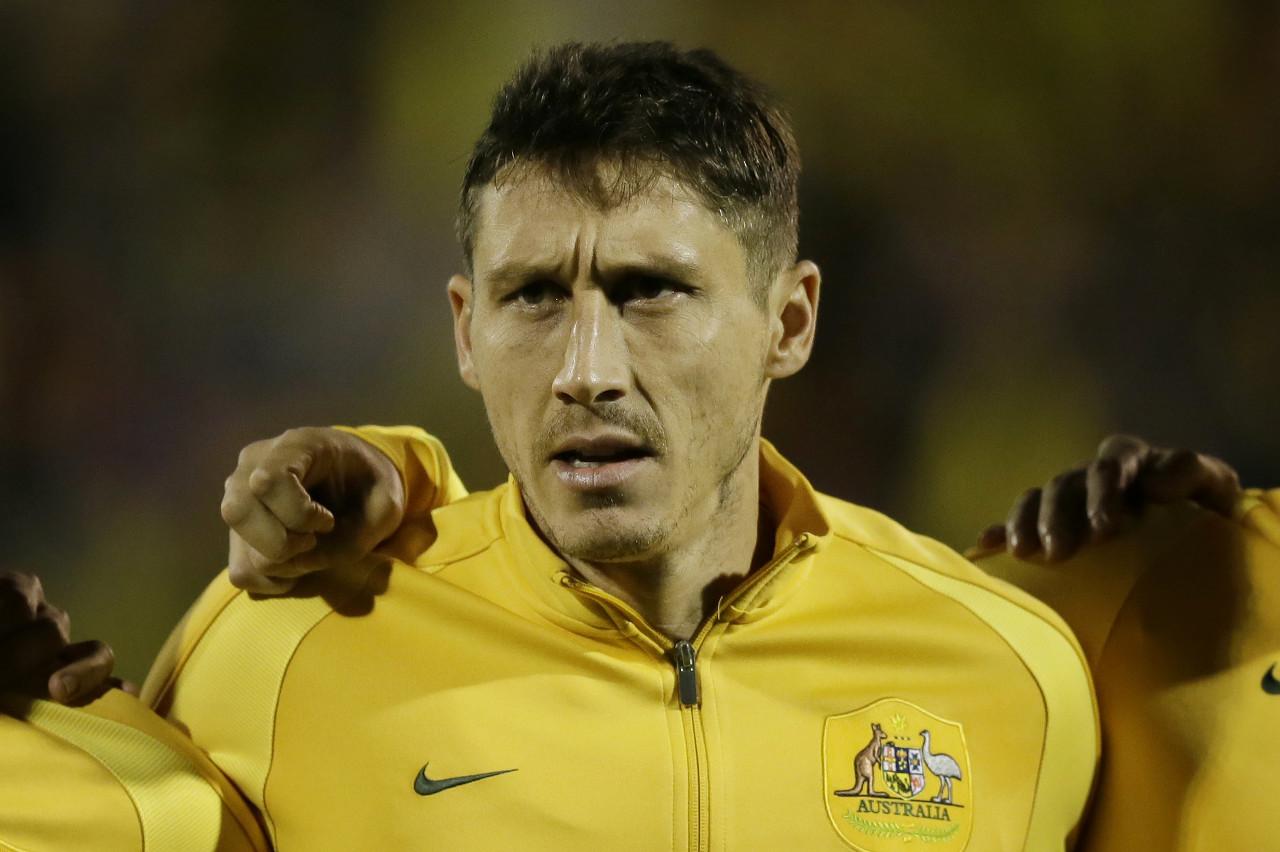 官方:前申花中场、澳大利亚男足队长米利甘告别国家队