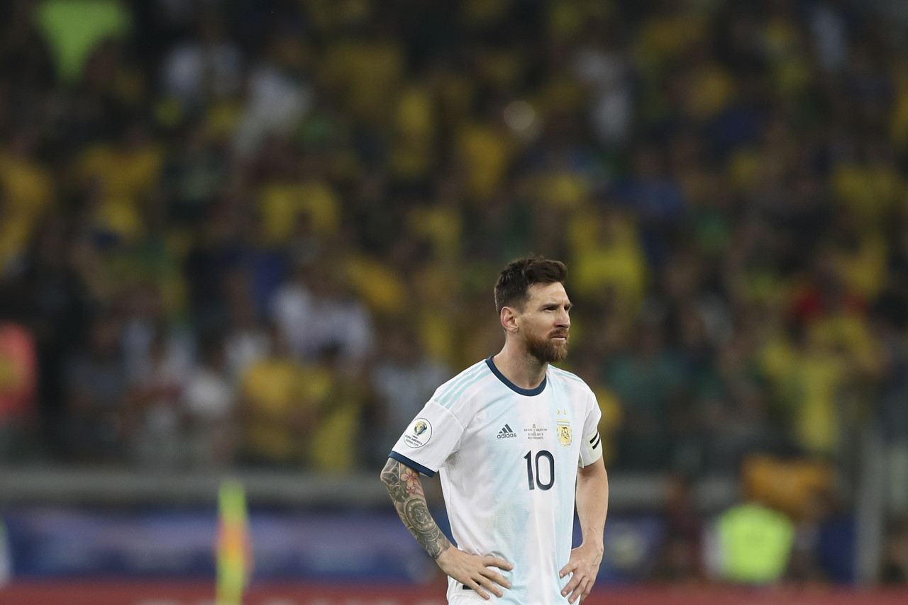 阿媒:阿根廷为梅西上诉,希望将国家队禁赛缩短至2个月