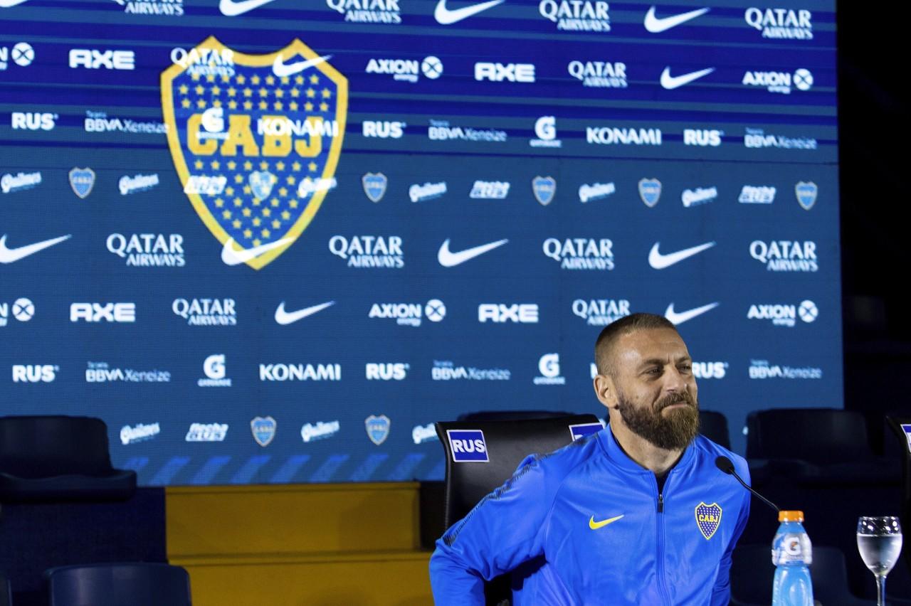 博卡主帅:德罗西还是我们的球员,我对他寄予厚望