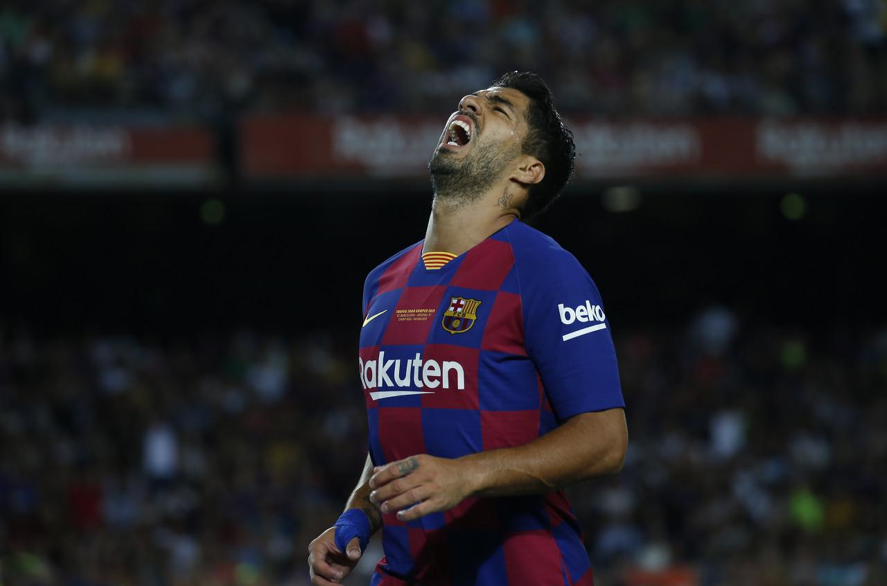 世体:苏亚雷斯上次在圣马梅斯球场进球还是在2015年