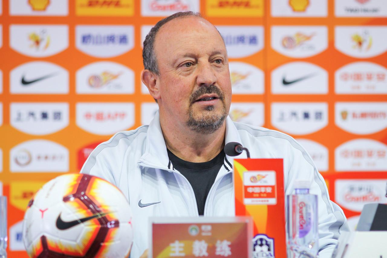 贝尼特斯:崔康熙执教过一方对申花是优势 球队会力争胜利