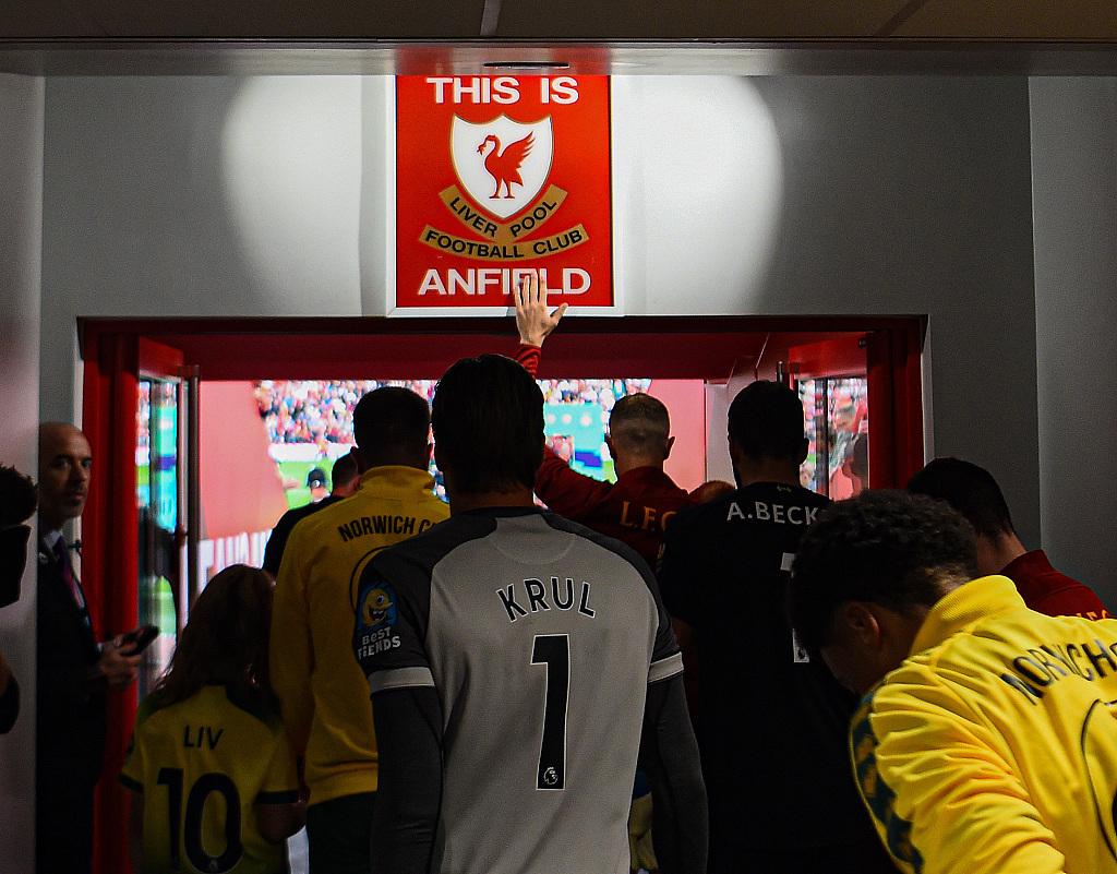 利物浦联赛主场已12连胜,近10场在主场先丢球的比赛保持不败