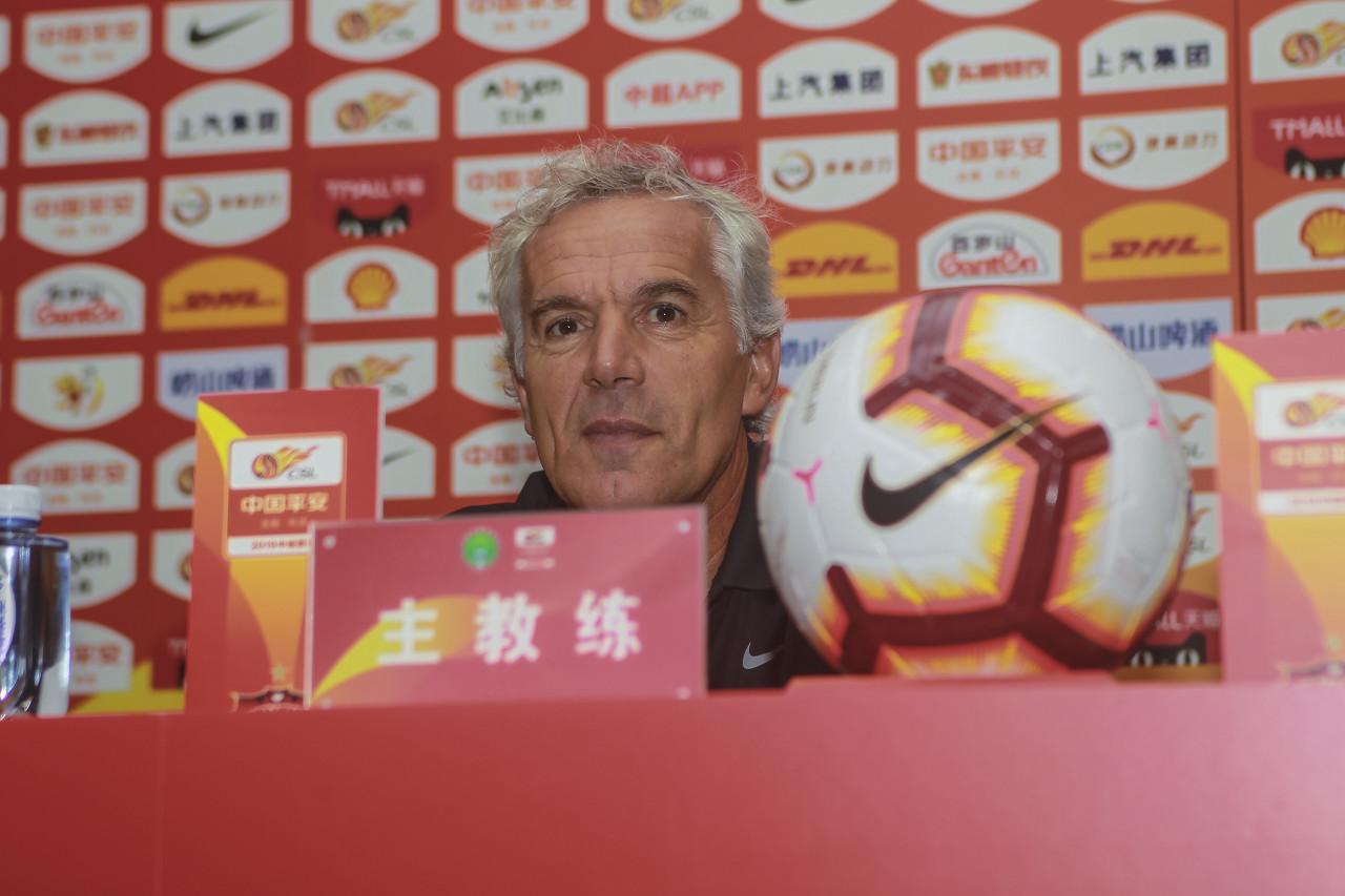 多纳多尼:结果遗憾但队员踢的非常好 大连进攻主要靠外援