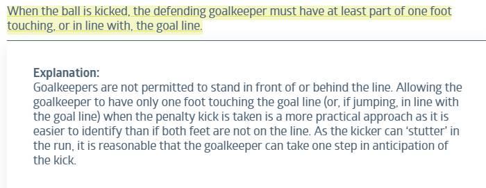 IFAB公布文件中对新规的解释