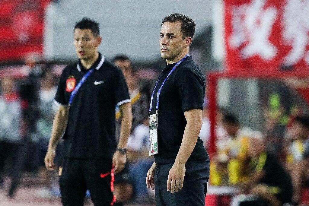 卡纳瓦罗:张琳芃踢左后卫是为抑制对方27号 主场还有机会