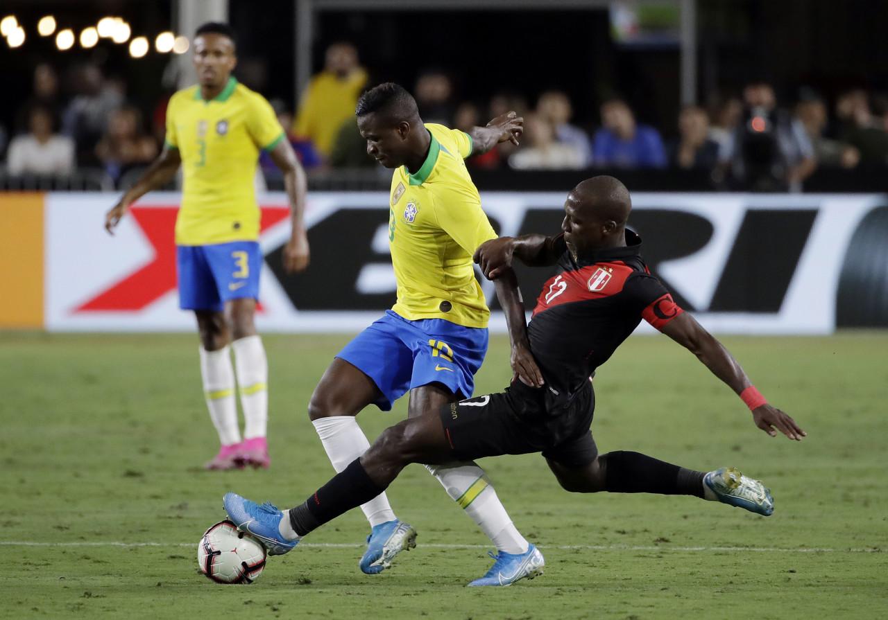 六台:皇马不允许维尼修斯随巴西国奥参加奥运预选赛