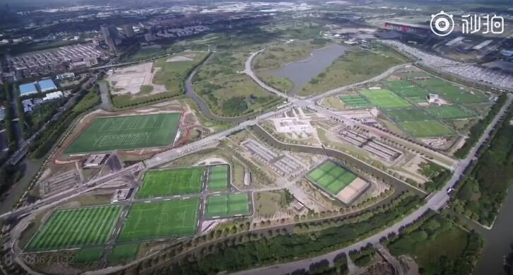 沪媒:上海市民体育公园明年元旦开园,设有50片足球场