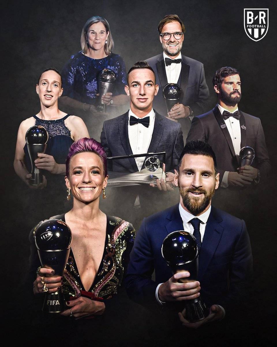 荣耀时刻!FIFA年度各奖项得主一览