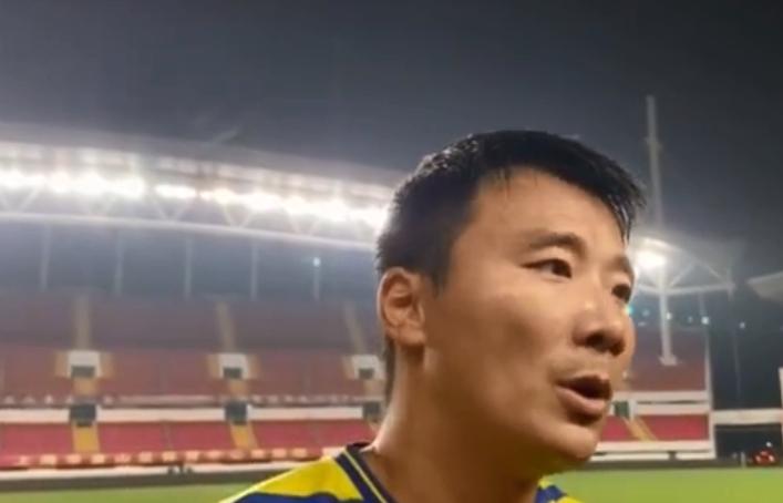 申鑫队长赵作峻:希望球队不要散,要有爬起来的勇气