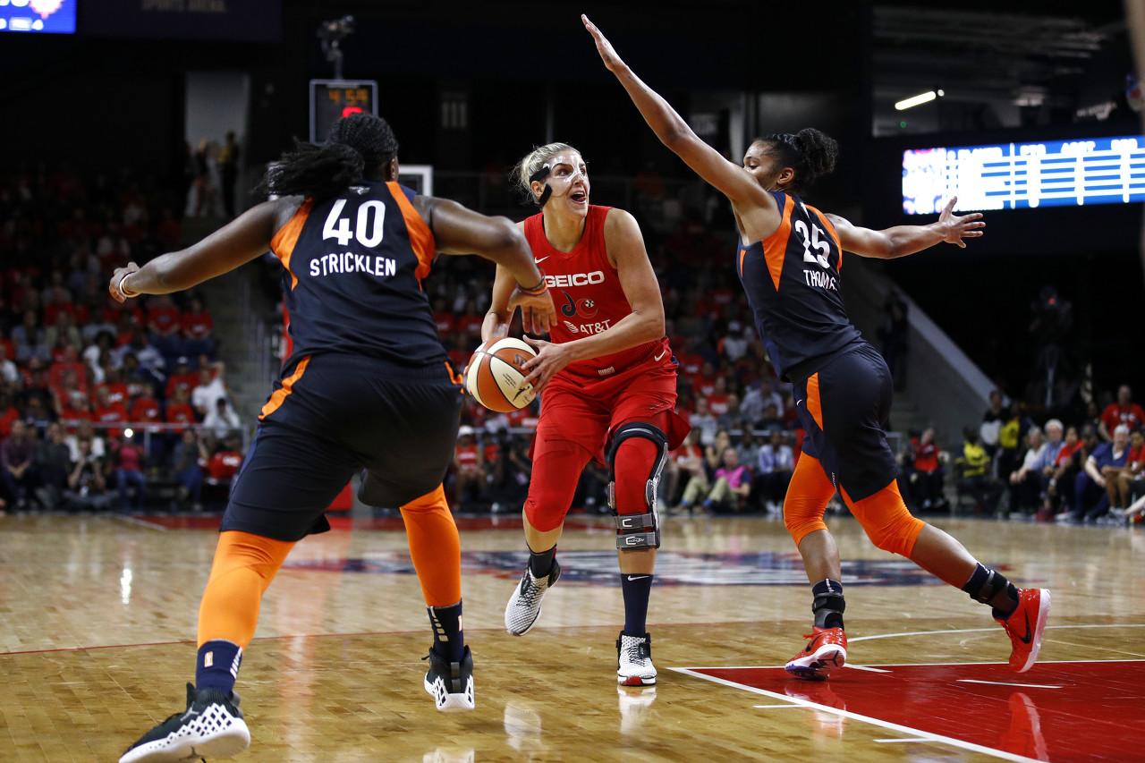 WNBA总决赛-多恩22分10板5助 神秘人力克太阳1比0领先