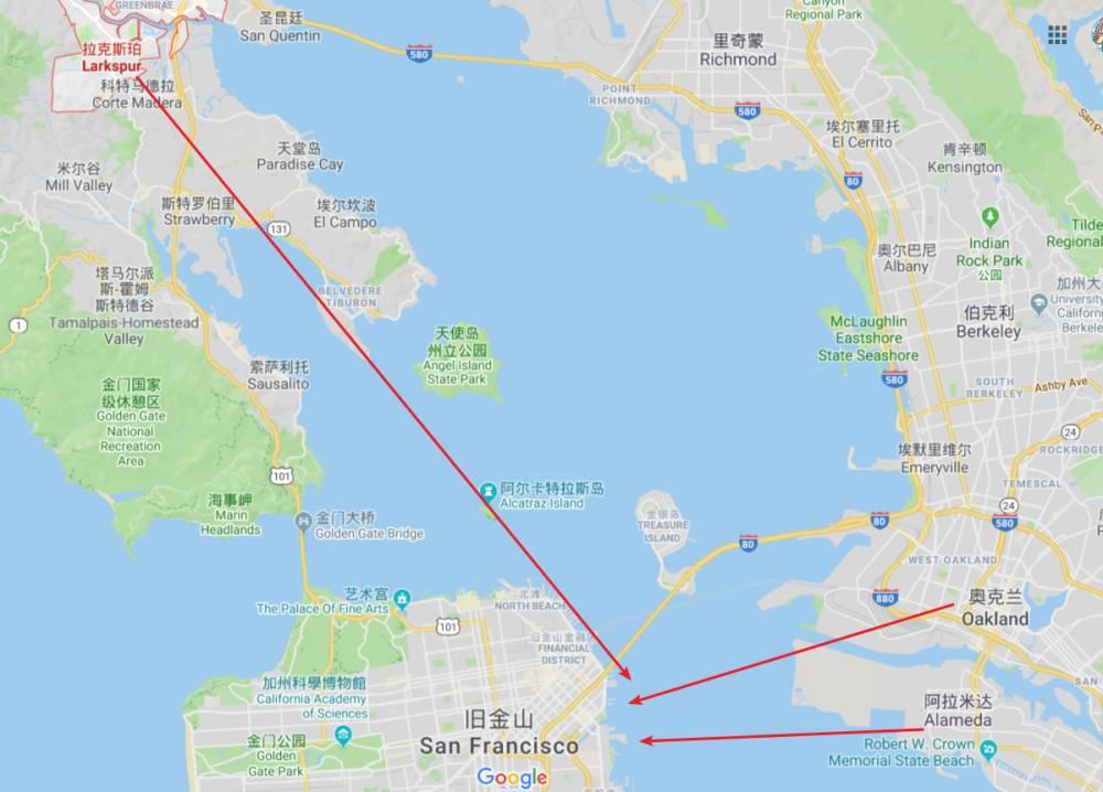 旧金山开通使命湾轮渡服务 球迷们可乘船前往大通中心看球