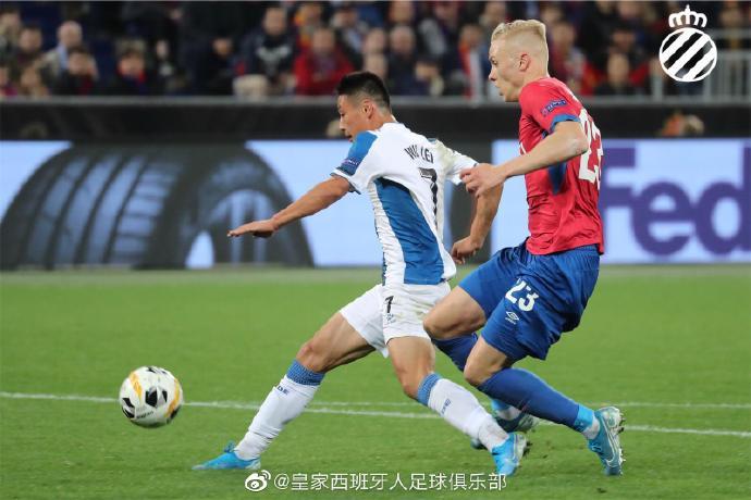 武磊首发打满全场可惜没能进球,西班牙人关注他的表现