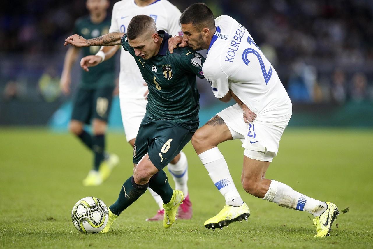 维拉蒂:我们是意大利,我们不能只满足于晋级欧洲杯