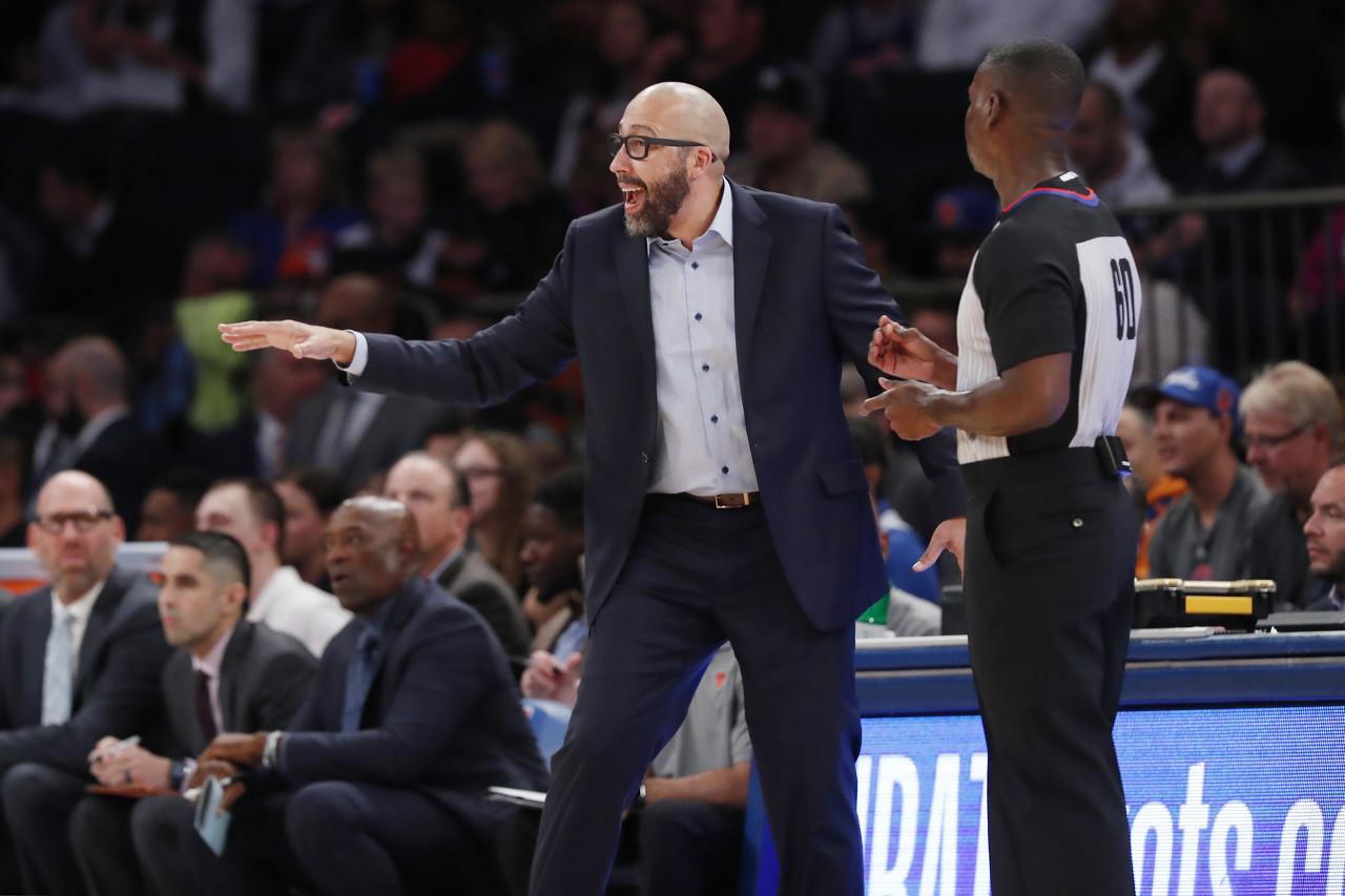 菲兹戴尔:当时很惊讶铂金离开 但这就是NBA
