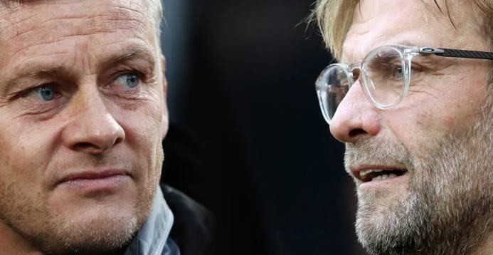 3平1负,克洛普麾下的利物浦从未客胜过曼联