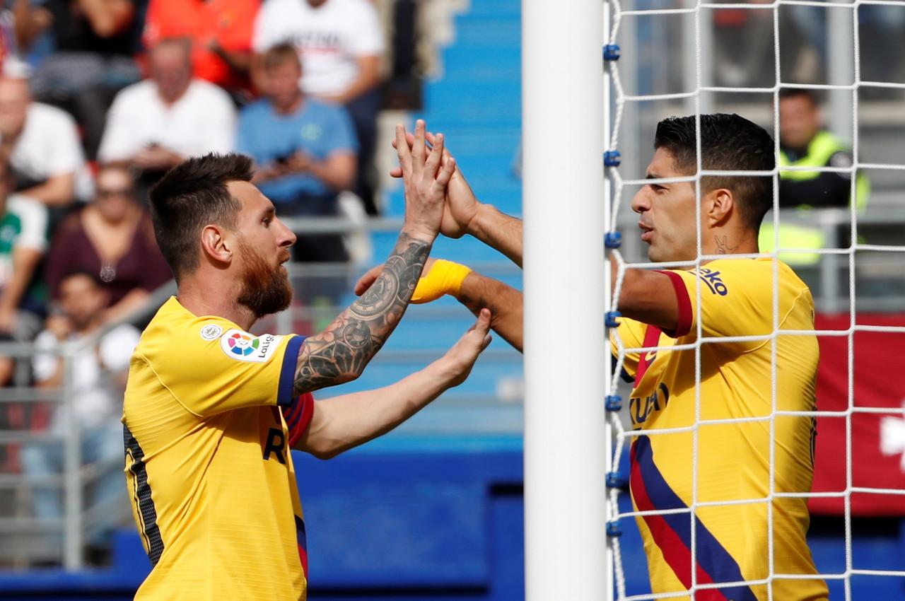 17/18赛季来巴萨欧冠射手榜:梅西19球,乌龙球第二