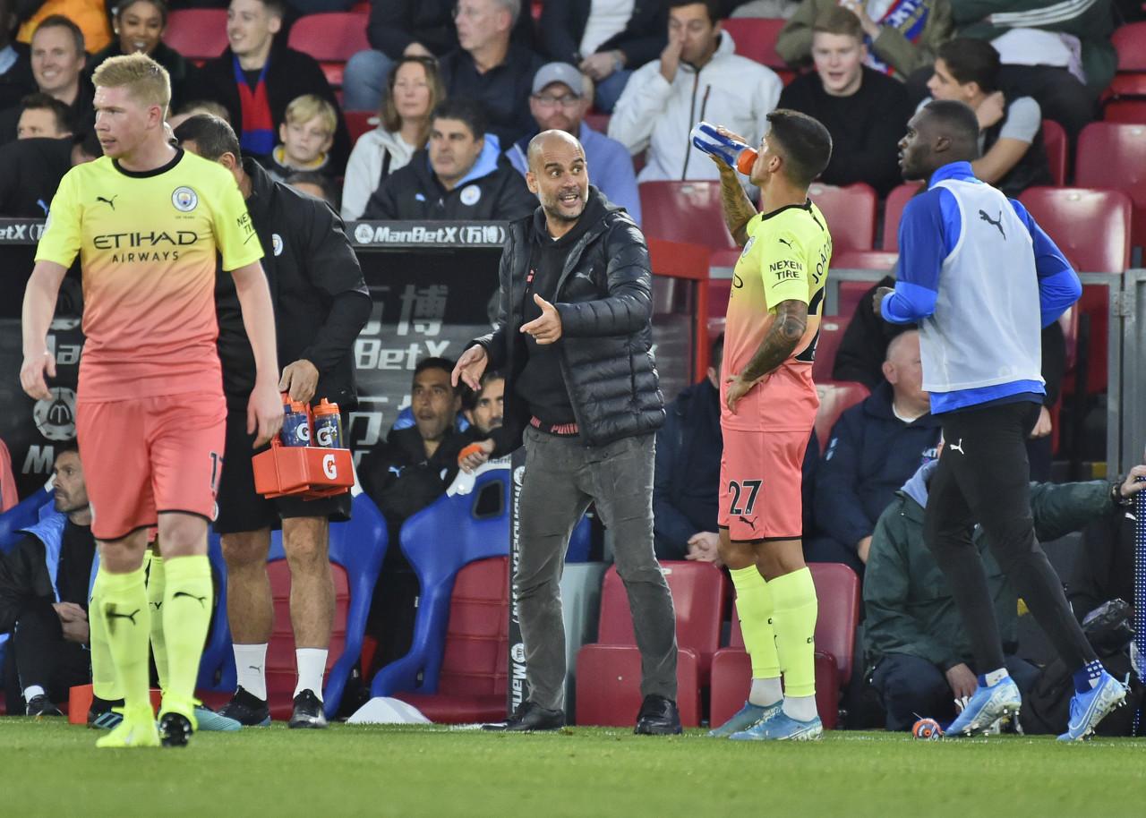 瓜帅:沃克客串守门是门将教练建议,他的勇气值得表扬