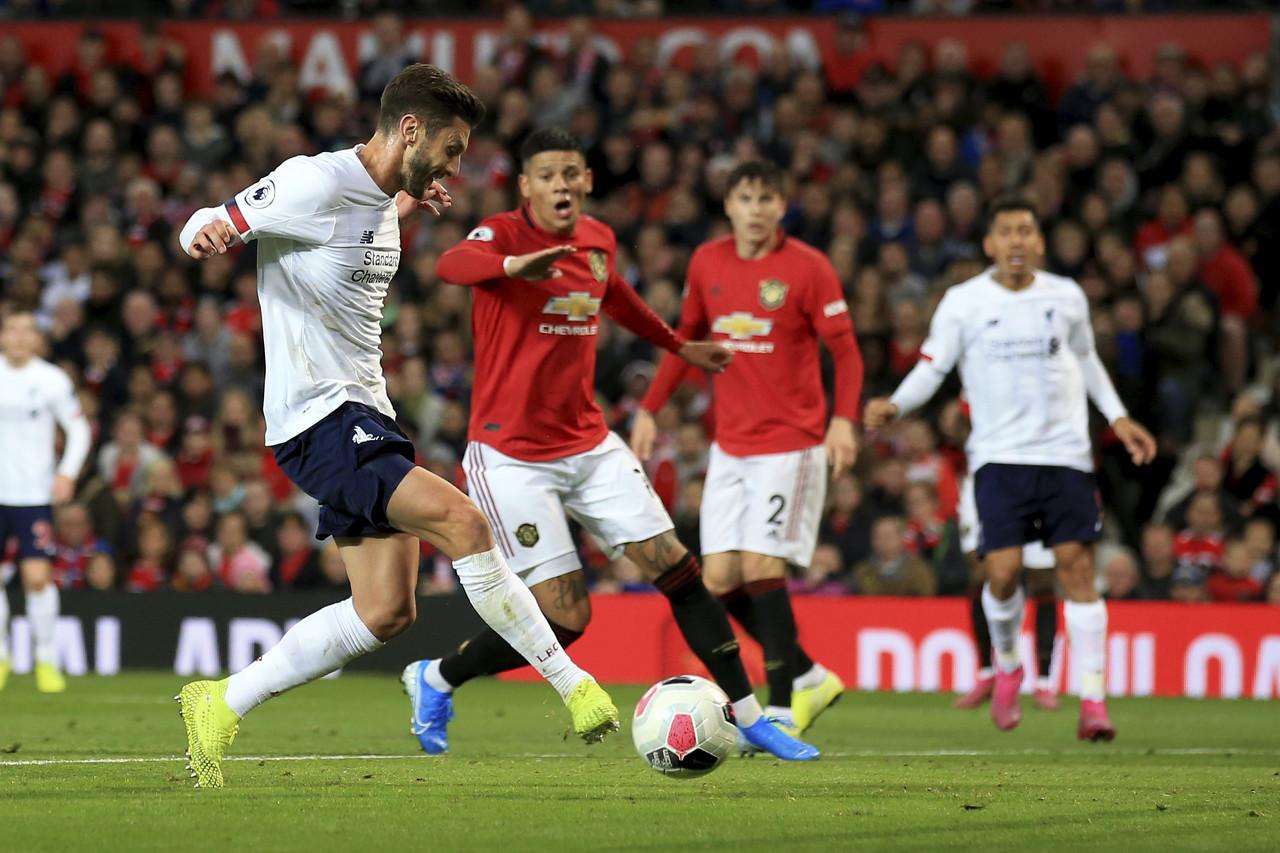 自2001年的双红会,首次有两位英格兰球员为双方进球