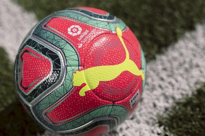 由于辨识度不高,西甲冬季官方用球被撤回