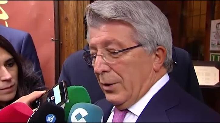 马竞主席:与巴塞罗那达成的协议与格里兹曼无关